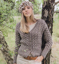7bc74a058 Knitting Pattern- Ladies DK Cable Cardigan pattern- see description