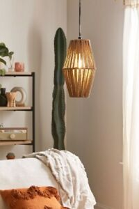 Urban Outfitters Ryanne Rope Pendant Light
