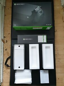 Empty REPLACEMENT Box Xbox One X