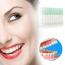 20x Clean Interdental Floss Brushes Dental Care Tool Inter Dental Silicone