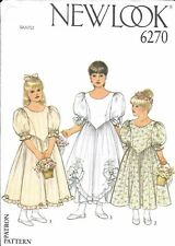 NewLook Pattern for Brides Maid Dresses 6270