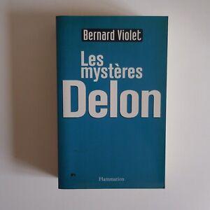 Bernard VIOLET 2000 Les mystères DELON biographie acteur cinéma France N7527