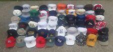 Lot 60 Hats VINTAGE Modern Trucker Baseball Snapback MESH Cap OHIO Advertising