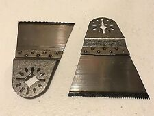 "2 Pack Imperial Blades 16TPI Oscillating Saw Blade 2-1/2"" USA Made Universal"