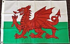 2x3 Wales Flag Welsh Dragon Banner Cymru Pennant UK United Kingdom New Polyester