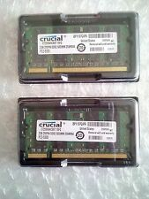 Crucial 4GB 2x2GB PC2-5300 PC5300 DDR2 667 MHZ laptop memory SO-DIMM 200pin ram