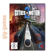 Cities in Motion 2 PC spiel Steam Download Digital Link DE/EU/USA Key Code Gift