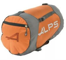 ALPS Mountaineering Orange Compression Sleeping Bag Stuff Sack Medium