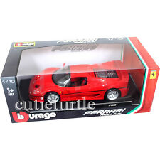 Bburago Ferrari F50 1:18 Diecast Model Car Red 18-16004