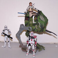 Star Wars ROTS Revenge of the Sith Motorized AT-RT w/ Commander Deviss and Clone