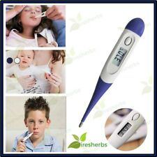 1 Digital THERMOMETER Electronic Infant Adult Baby LCD Accurate Body Temperature