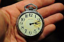 Vintage Waltham PS Bartlett 17J Size 16 Pocket Watch Pocketwatch No Reserve