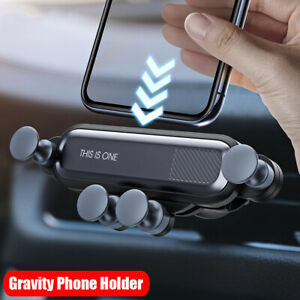 360°Gravity Car Holder Air Vent Clip Mount Holder GPS Cradle Stand for Cellphone