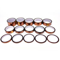 33m Temperature Heat Resistant Kapton Tape Polyimide for 3D Printer wholescda
