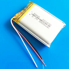 3.7V Li Po Battery 2000mAh 3 Wires 103450 for Tablet PC DVD GPS Recorder PAD MID
