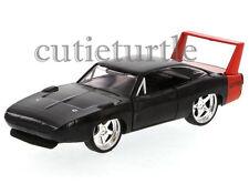 Jada Bigtime Muscle 1969 Dodge Charger Daytona 1:32 Diecast Toy Car Black