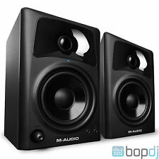 2x M-Audio AV42 AV 42 Studio Reference Monitor Speakers - replace AV40