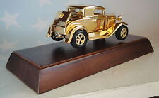 1932 FORD UNIVERSITY OF ILLINOIS GOLD PLATED 1 OF 50 LIBERTY CLASSICS DIECAST