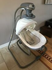 Graco Duet Oasis Baby Swing with Soothe Surround Technology Rocker Glider