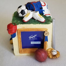 3D Sports Photo Cube Picture Frame Baseball Soccer Basketball Football Tennis
