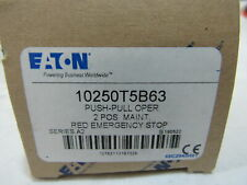 Eaton NSB 10250T5B63 Pushbutton Emergency Stop