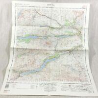 1966 Vintage Militare Mappa Di Loch Tay Scozia Perthshire Il Scozzese Highlands