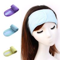 Adjustable Facial Hairband Makeup Head Band Toweling Hair Wrap Women Towel