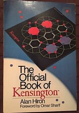 The Official Book Of Kensington Game By Alan Hiron Forward By Omar Sharif