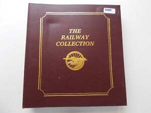 Railway / train thematics - Covers & postcards collection. See pics below.