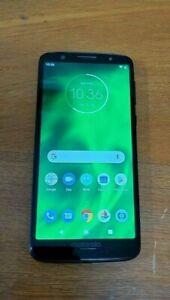 Motorola Moto G6 32 GB - XT1925-6 + 64GB Card - Black -Unlocked - original box