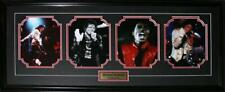 Michael Jackson The King of Pop Music Singer 4 Photograph Collector Frame