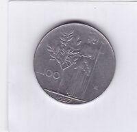 100 Lire Italien 1957 Italy bessere Erhaltung