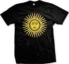 Sun of May Sol de Mayo National Emblem Argentina Uruguay Mens T-shirt