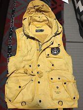 Vintage Polo Ralph Lauren Yellow Nautical Vest With Patch Medium M