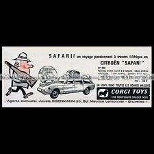 CORGI TOYS 1963 CITROEN Safari ID 19 (436) - Pub / Publicité / Ad #E75