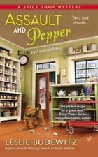 Leslie Budewitz - A Spice Shop Mystery: Assault and Pepper #1 - NEW FREE Ship
