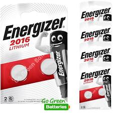 10 x Energizer CR2016 3V Lithium Coin Cell Button Battery EXPIRY 2029 *New Packs