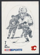 1986-87 Kraft Sports Hockey Card Joe Mullen