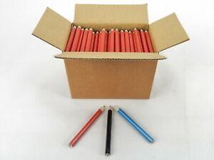 """Mini Triangle 3"""" Golf Pencils, Box of 250, Choice of 3 Colors, Sweda #LO7302"""