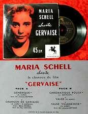 EP Maria Schell Chante Gervaise (Versailles 90 M 133) F