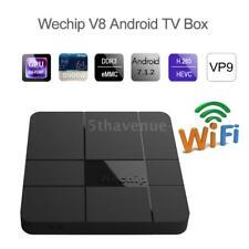 Smart Android 7.1.2 Amlogic S905W Quad Core TV Box 8GB DLNA HD Media Player H1X6