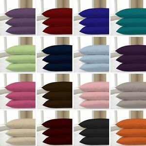 400 THREAD COUNT 100% EGYPTIAN COTTON HOUSE WIFE PILLOW CASES PACK OF 2