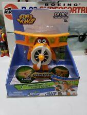 Super Wings Transforming Grand Albert Character Jet Toy Kids
