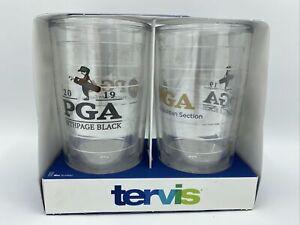 Tervis 2 Pack Brand New Tumblers 16oz - PGA 2019 Bethpage Black And Metropolitan