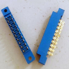 2 Card Edge Connector 2x10 Row 20Pin 3.96mm Pitch 805 Slot Solder Socket SP20 td