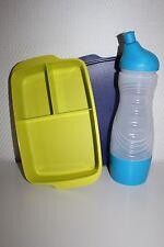 TUPPERWARE Sportfreund Flasche 750 ml blau Clevere Pause Dose Früstukbox 1,0 L