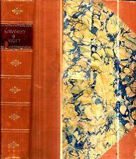 1895 SIR WALTER SCOTT SCOTLAND WAVERLEY CLASSIC