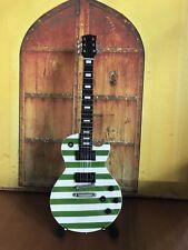 Gibson Les Paul Green Stripes Miniature Electric Guitar