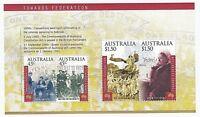AUSTRALIA 2000 STAMP MINI SHEET 'TOWARDS FEDERATION' - MINT MNH