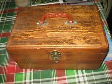 Vintage Pistol Shooters Range Box 38/357